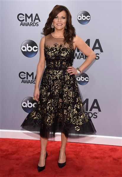 Martina McBride attends the 48th annual CMA Awards at the Bridgestone Arena in Nashville, TN, on Nov. 5, 2014.