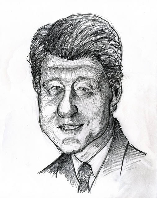 Bill Clinton, 42nd President of the United States 1993-2001.