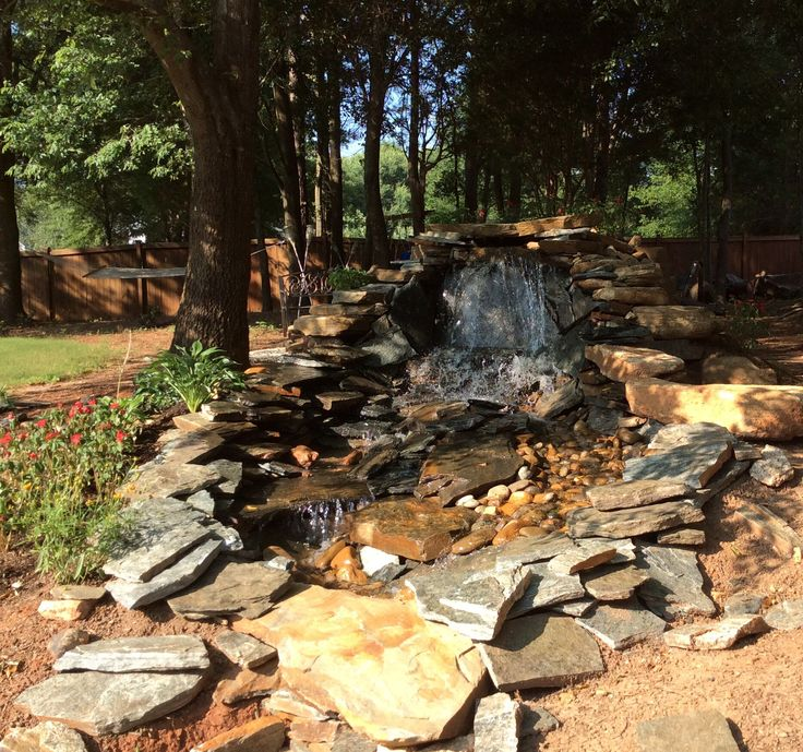 17 Best Images About Pondless Waterfalls On Pinterest Backyard Waterfalls Backyard