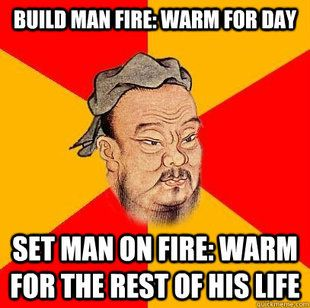 Confucious Say memes... so horrible! Is it wrong that I laugh at these?! Asian jokes. Chinese humor