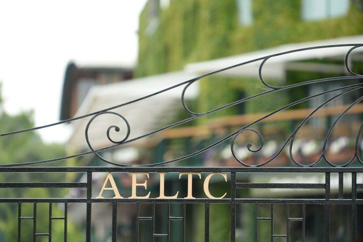 The AELTC gates - Thomas Lovelock / AELTC