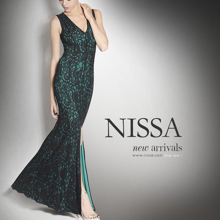evening dress from nissa: http://goo.gl/ihJu11  #nissa #style #look #new #arrivals #dress #eveningdress #elegant #green #embroidery #beautiful #starlike #divastyle #sleek #fashion #fashionista
