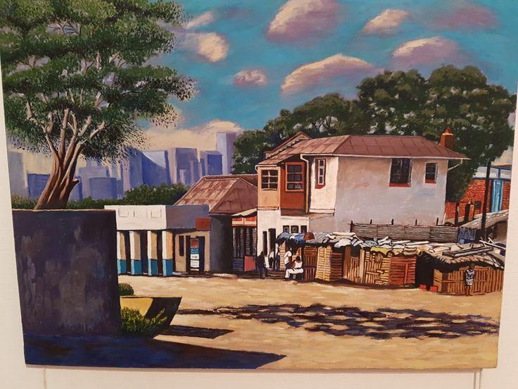 Cindy's Cafe, Marabastad, 2000. By Michael Mmutle
