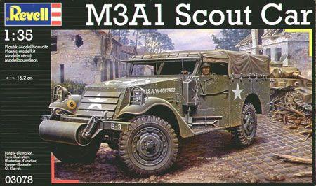 Maquette Revell 03078 M3A1 Scout Car 1/35