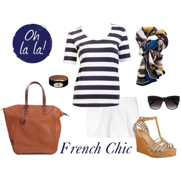 """French Chic"" by coastalstyleblogspot on Polyvore"