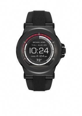 1c20fe2ff159 Michael Kors Connected Mens Dylan Black IP Smart Watch  bestwatchesfornurses