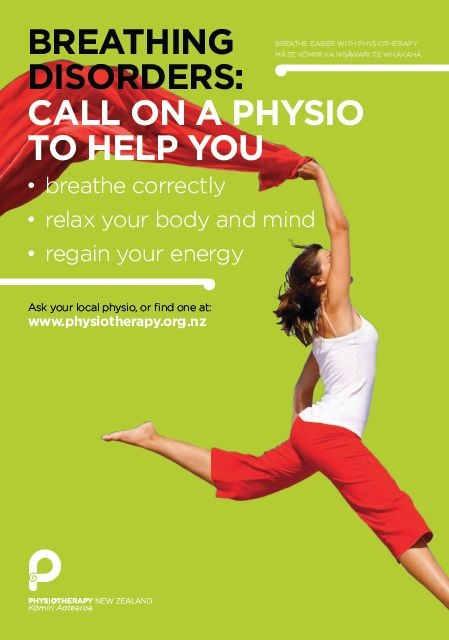 Physiotherapy can help with breathing disorders. http://www.physiotherapy.org.nz/breathing