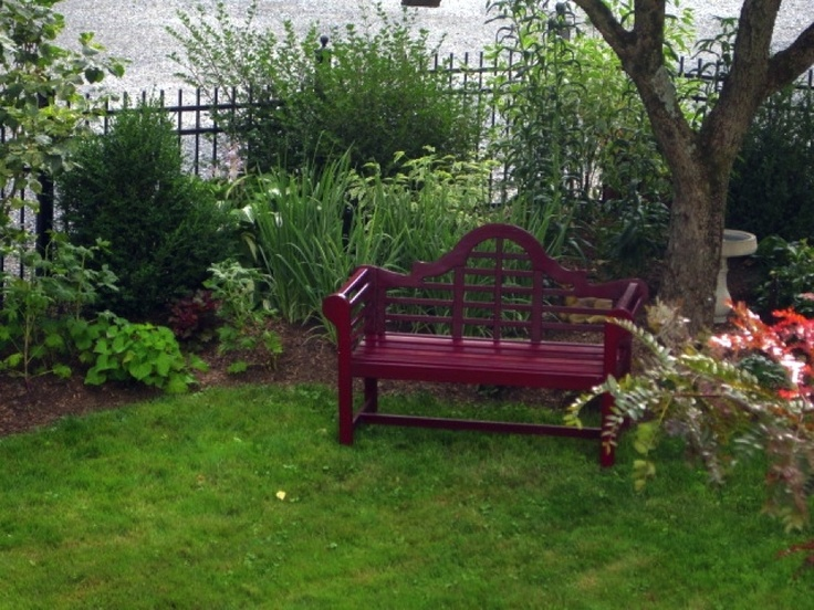 9 best painted lutyens benches images on pinterest for Painted outdoor benches