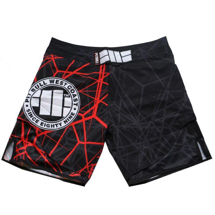 Grappling Shorts Pit Bull RED RAY  #streatwear #pitbullsports #buy #tee
