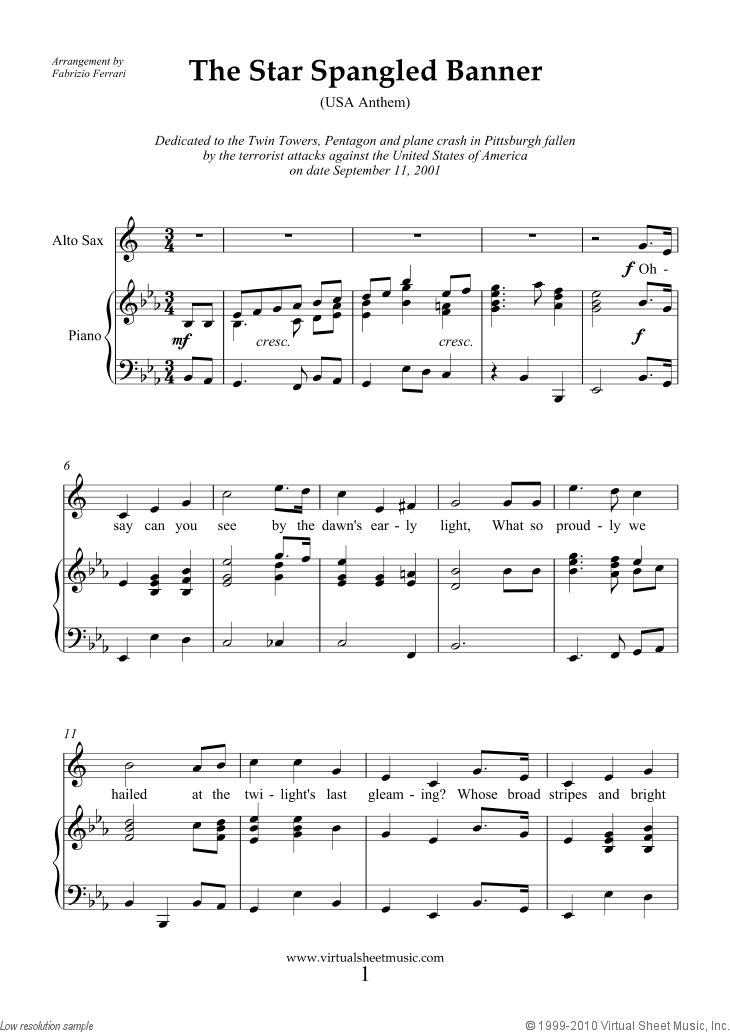 58 best alto saxophone sheet music images on pinterest for Piano house anthems
