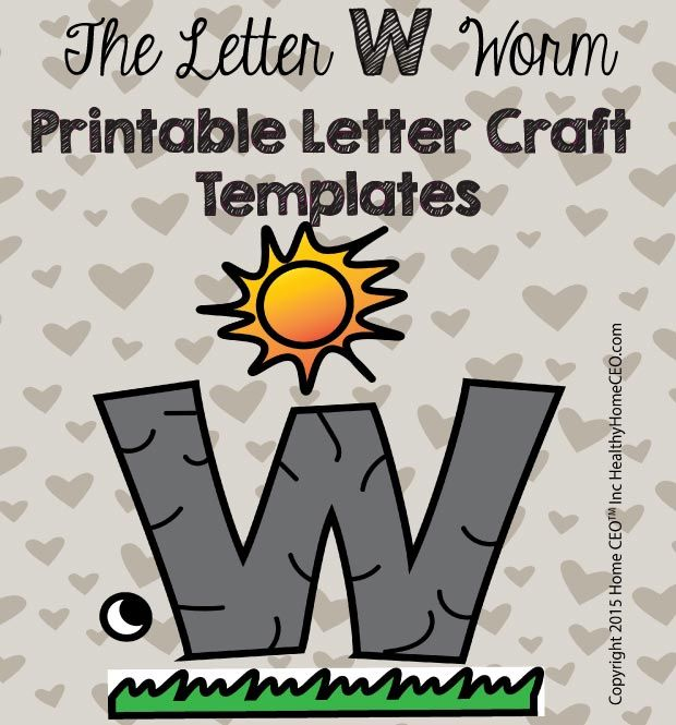 Letter Craft Templates Images On