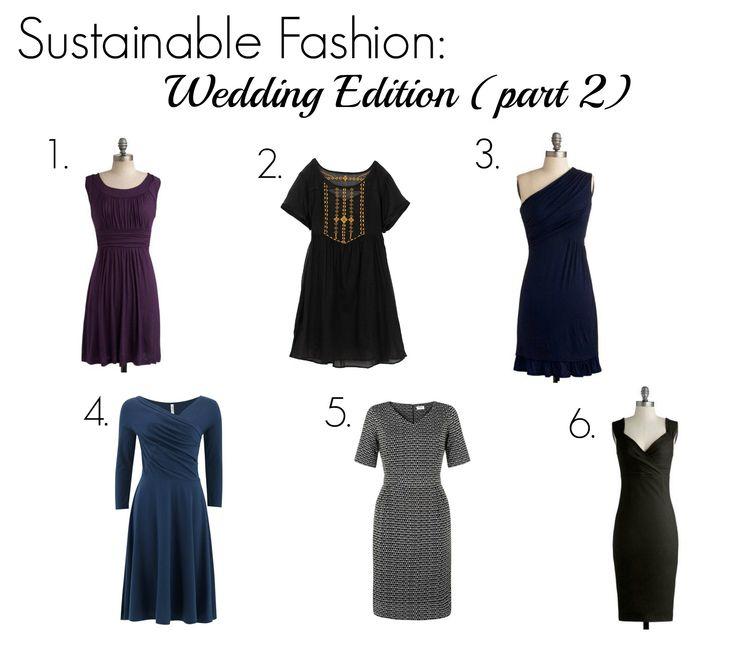 Sustainable Fashion: Wedding Edition (Part 2)