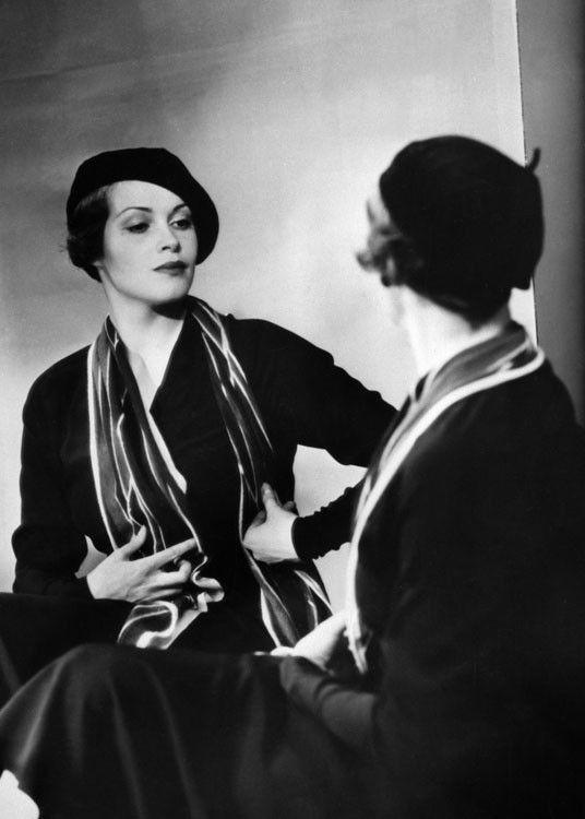 Sybille Shmitz, 1934. Photo: Yva (a teenaged Helmut Newton was her assistant 1937-8).