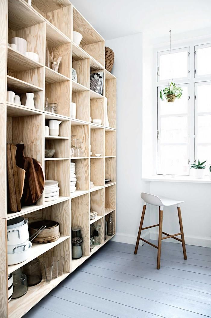 Open kastenwand keuken