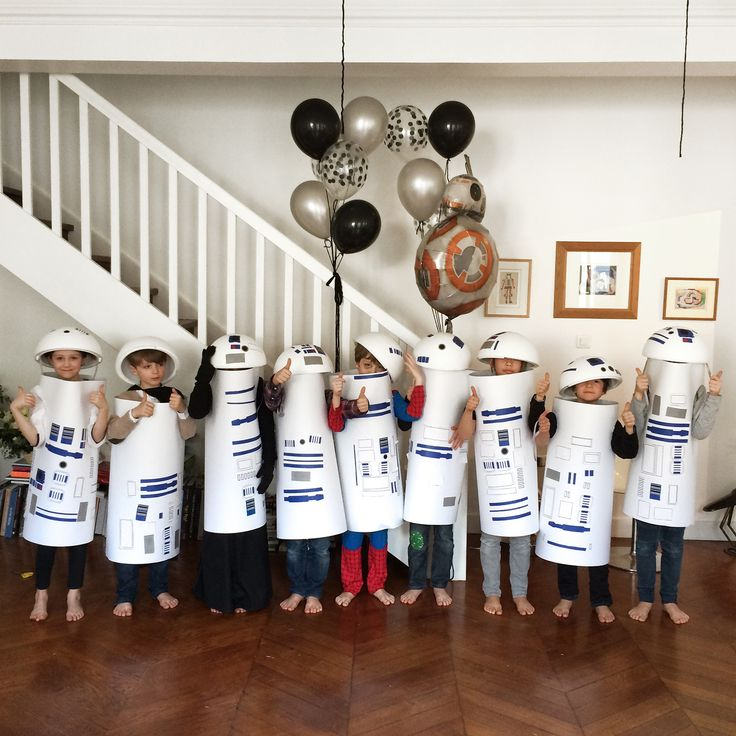 DIY costume R2D2 sur le site! #diy #mylittleday #starwars