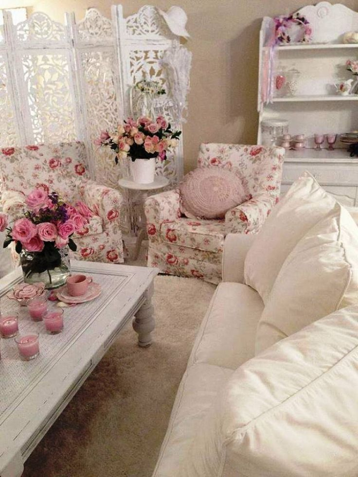260 best beautiful romantic rooms images on pinterest - Decoracion shabby chic dormitorios ...