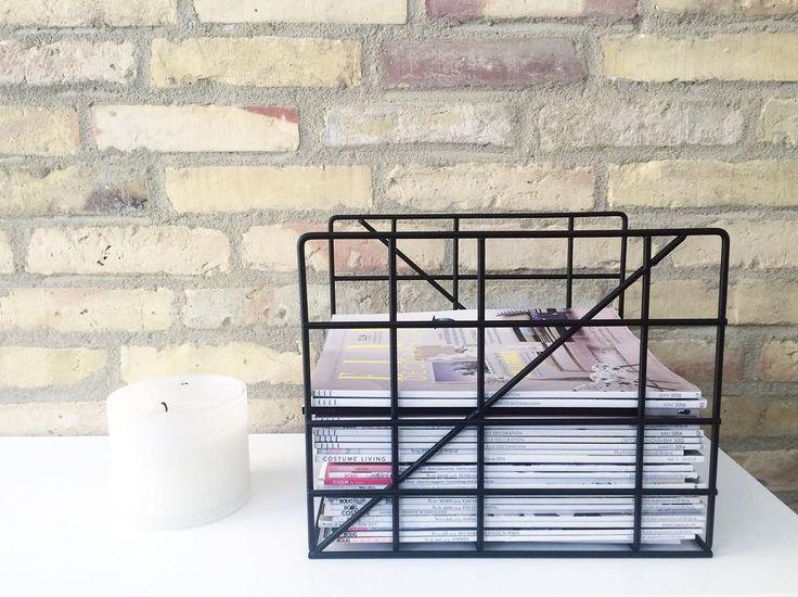 ferm LIVING Square Magazine Holder: http://www.fermliving.com/webshop/search/news-living-aw15/square-magazine-holder-4.aspx