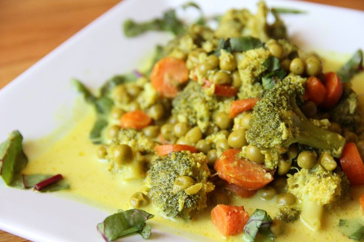 Broccoli and Carrot Curry