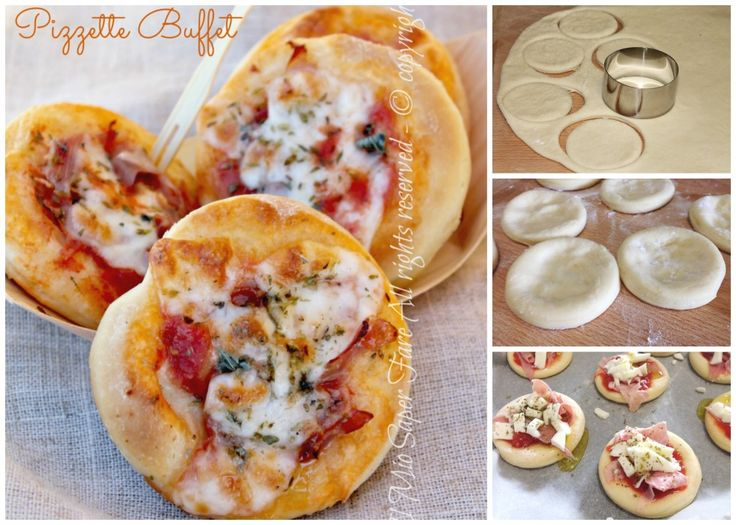 Pizzette buffet