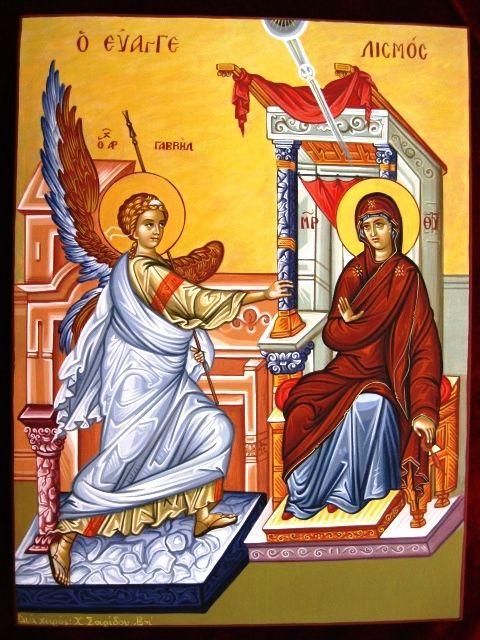 25 Μαρτίου : Ο ΕΥΑΓΓΕΛΙΣΜΟΣ ΤΗΣ ΘΕΟΤΟΚΟΥ ΚΑΙ Η ΕΡΜΗΝΕΙΑ ΤΗΣ ΕΙΚΟΝΑΣ ΤΟΥ ΕΥΑΓΓΕΛΙΣΜΟΥ « ΑΒΕΡΩΦ