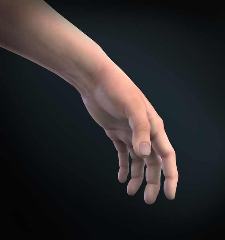 ArtStation - Hand, Anastasia Fileva