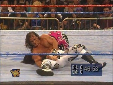 Bret Hart vs. Shawn Michaels    WWF Wrestlemania XII