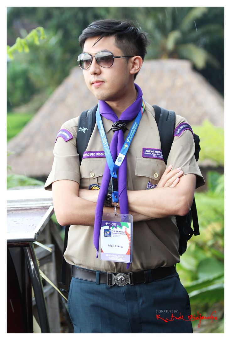Mori Cheng - Chief of APR Young Adult Members Group (YAMG) Scout of Hongkong  #ISJ #scoutportraiture #hongkongscout #APRYAMG #roverscout #worldscouting #APRScouting