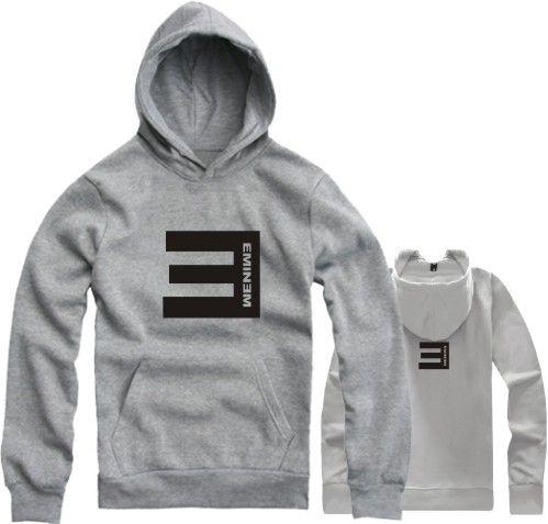 On sale Lovers with a hood sweatshirt hoodies eminem e fleece sweatshirt hiphop hooded man outerwear jacket 2014 $14.53