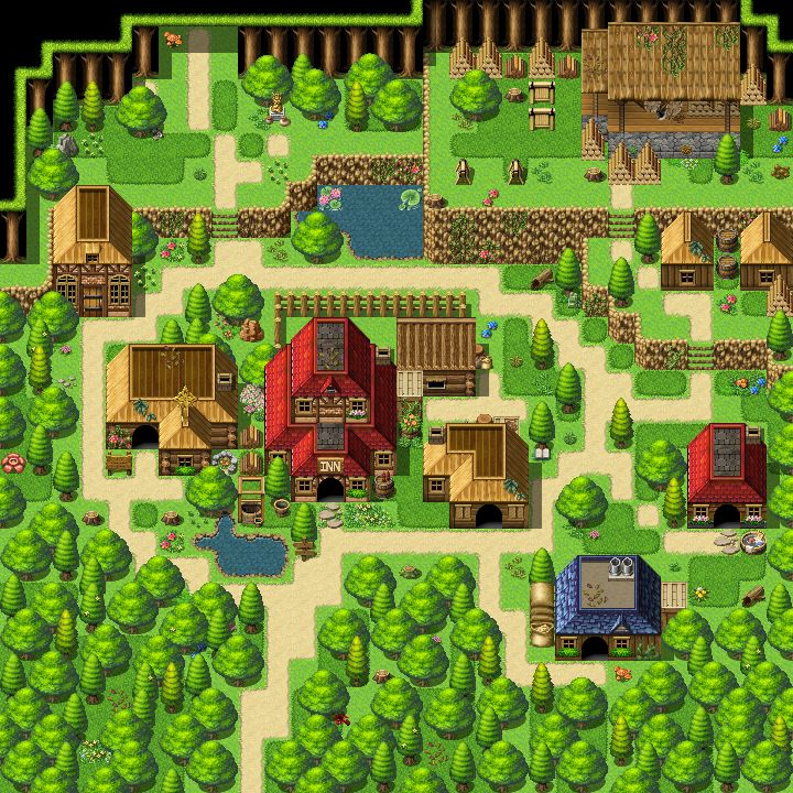 Pixel Art Games, Pixel Art, Rpg Maker