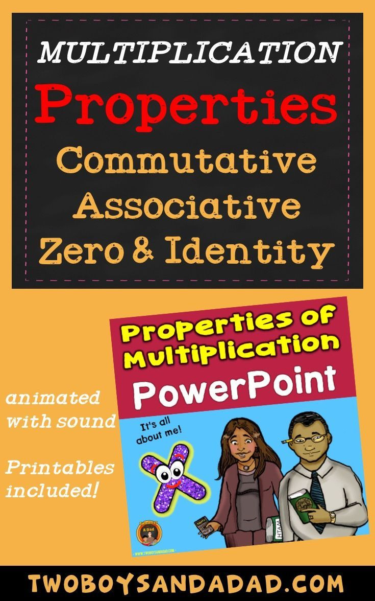I Developed The Properties Of Multiplication Powerpoint To Explicitly Teach The Commutat Powerpoint Lesson Teaching Multiplication Properties Of Multiplication
