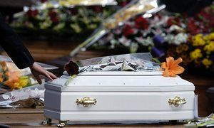 Parents have to borrow from loan sharks to pay for their child's funeral' Dawn Foster