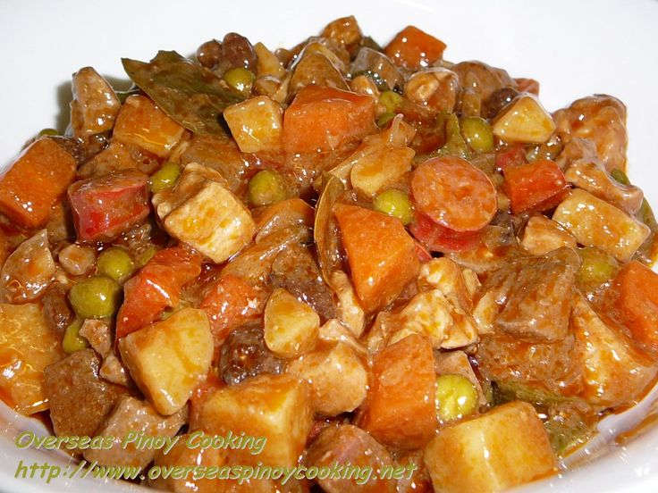 filipino foods | ... version of the first menudo dish and one of the first filipino food