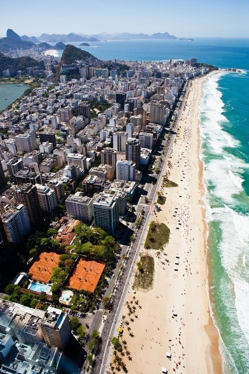 Ipanema, Rio de Janeiro, Brasil.I want to go see this place one day. Please check out my website Thanks.  www.photopix.co.nz