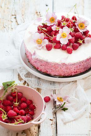 tort malinowy, raspberry torte #torty #tort #maliny #torte #raspberries