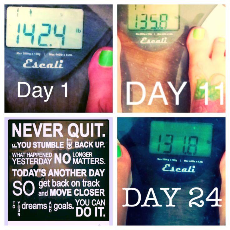 Advocare 24 day challenge! #advocare #results