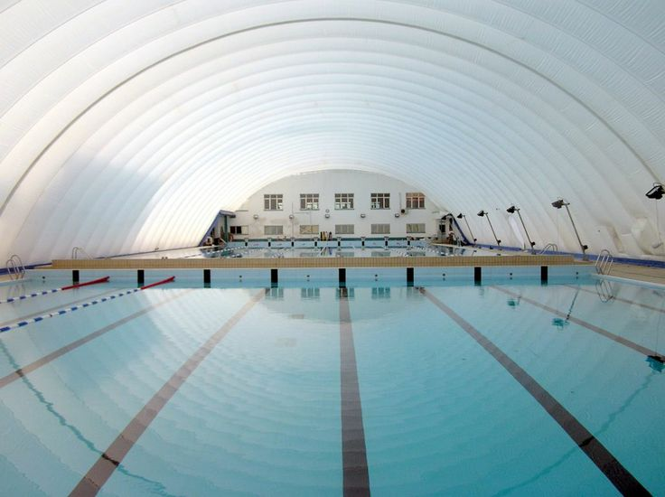 Www Inspiredstructures Com Double Skinned Air Dome Over