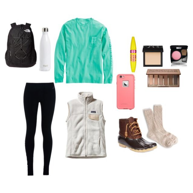 Cute preppy outfit for school!