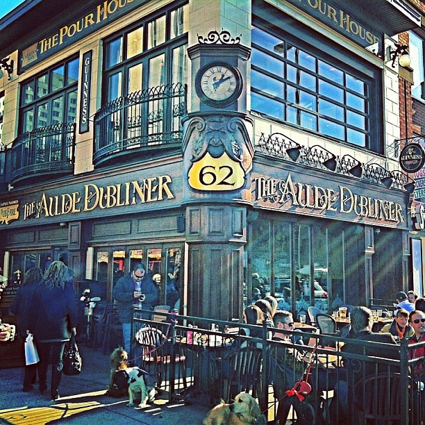 The Aulde Dubliner & Pour House in the ByWard Market district, downtown Ottawa, Canada. For more Ottawa restaurant options visit http://www.ottawatourism.ca/en/visitors/where-to-eat-and-shop/restaurants