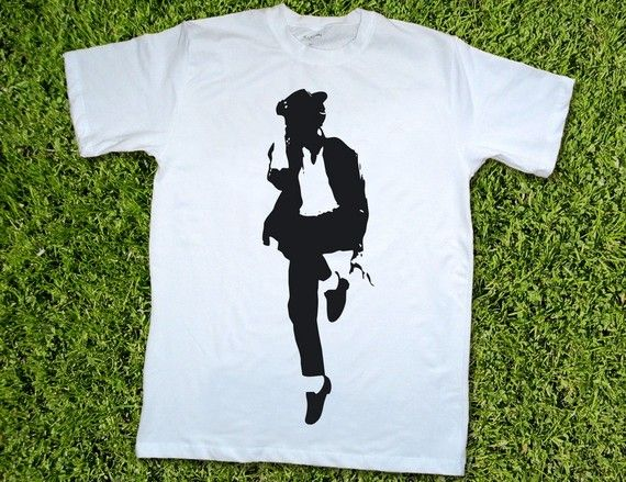 Michael Jackson t-shirt Fathers day gift for dad men teen baby toddler black and white unisex custom tee shirt  Sale