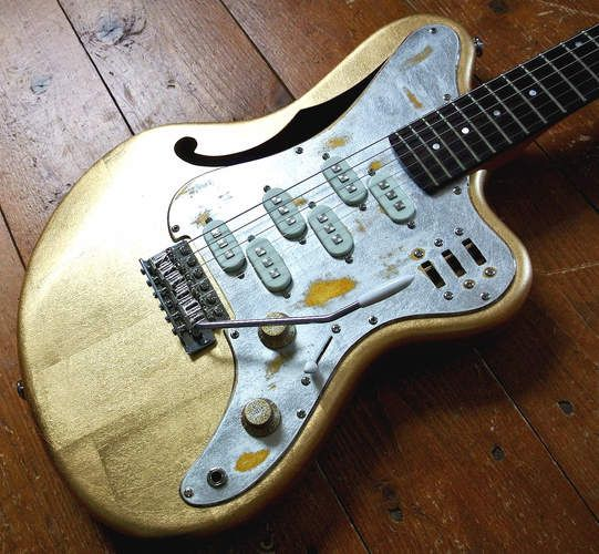 That asian building guitar manufacturer original unusual GOT ALL HORNY