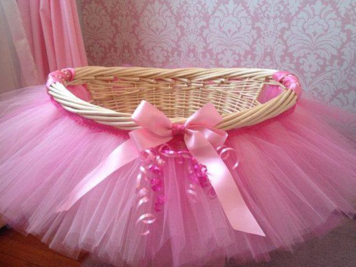Tutu gift basket idea.... Easy DIY!!!