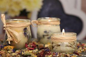 Kerzen kaufen kann ja jeder! Mit dieser Step-by-Step Anleitung kannst du in Nullkommanichts deine ganz individuellen Kerzen selber machen.