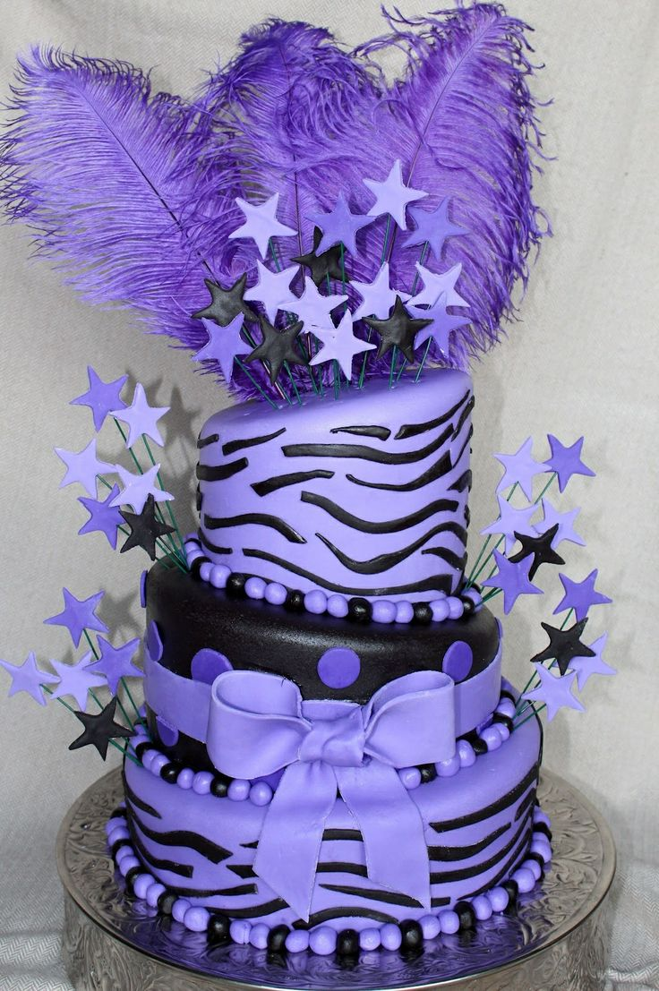 purple birthday cake 25 best ideas about leopard print cakes on 6881