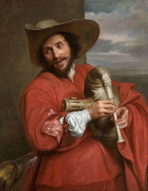 Anthony van Dyck, Francois Langlois as a Savoyard, about 1637. Oil on canvas.