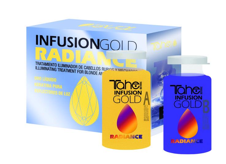 INFUSION RADIANCE Θεραπεία προστασίας του χρώματος και αναδόμησης για μαλλιά ξανθά ή με ανταύγειες!