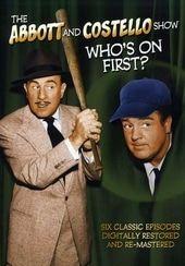 El Abbott y Costello Mostrar - ¿Quién es el primero? Colección de 6 Episodio
