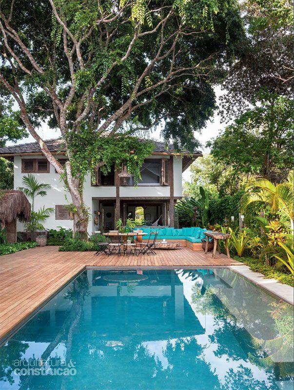 Casa na Bahia encanta com lounge ao ar livre e cozinha gourmet - Casa