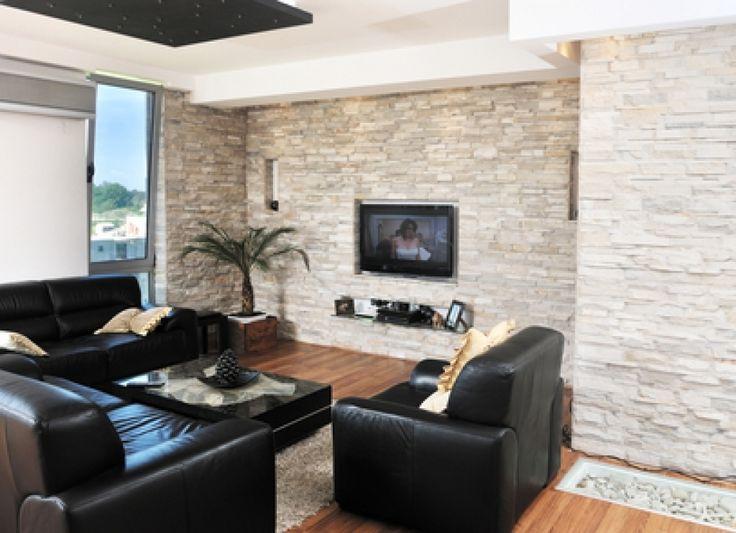 Deko Ideen Furs Wohnzimmer Steinwand And Wohnzimmergestaltung 80