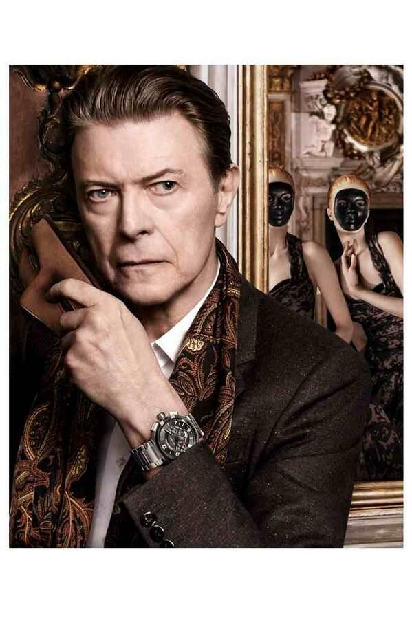 David Bowie for Louis Vuitton by David Sims