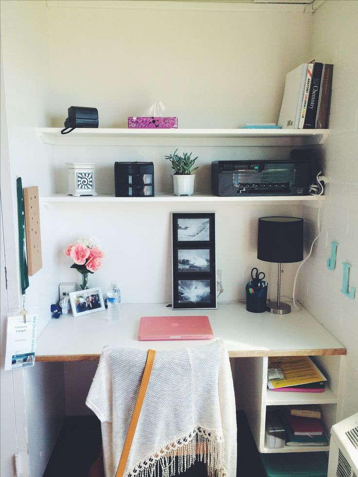 cute college dorm room - Dorm Room Desk Ideas